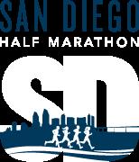 2022 San Diego Half Marathon Logo